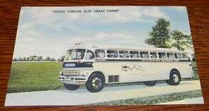 OLD Southeastern Greyhound Bus Lines Post Card PC