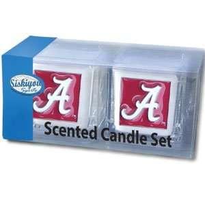 Alabama Crimson Tide College Candle Set