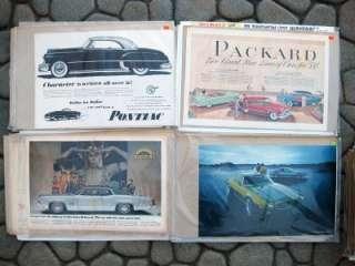 200 300+ Vintage Automobile Car Magazine Advertisement Ads Lot Antique