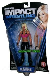 WRESTLING TNA DELUXE IMPACT SERIES 6 DIVA MADISON RAYNE