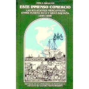 1898 (Spanish Edition) (9780847702503) Emma Aurora Davila Cox Books