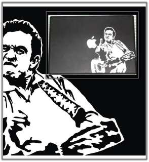 Johnny Cash Laptop Car Truck Decal Skin Sticker