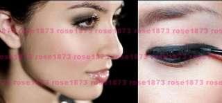 Black & Brown Makeup Waterproof Eyeliner Eye Liner Gel + Brush