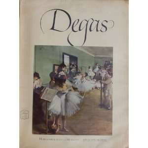 Degas  16 Beautiful Full Color Prints Daniel Catton Rich Books