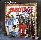 Ozzy Osbourne Black Sabbath Autograph Signed Album x2