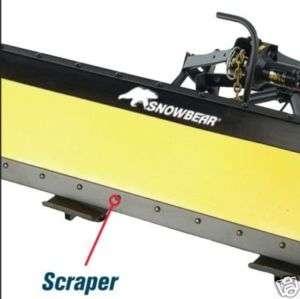 SNOWBEAR Snow plow 84 Scraper Blade Kit 20032