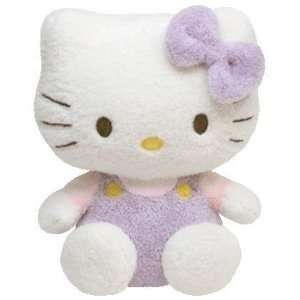 NEW HELLO KITTY PURPLE PLUSH STUFFED ANIMAL TOY 5.5