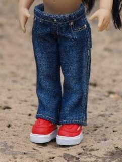 Sandwashed Dark Blue Colvin Jeans for Riley & friends