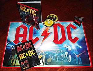 AC/DC IRON MAN 2 COLLECTORS EDITION CD DVD ACDC InStock
