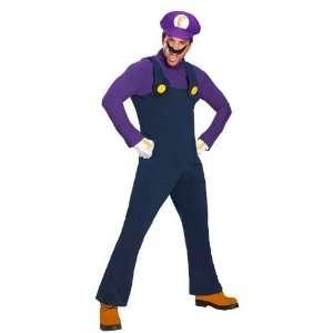 Rubies Super Mario Waluigi Mens Costumes Style# 889975