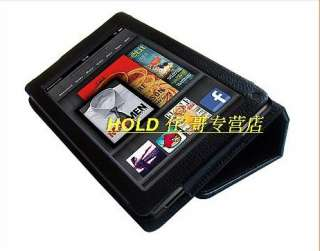 Newest Stand Folio PU Leather Case Cover Bag For  Kindle Fire 7