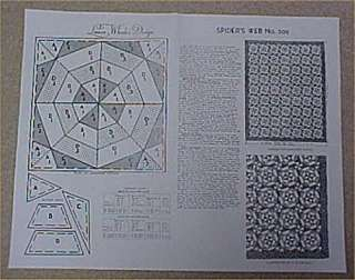 Vintage Mail Order Quilt Pattern Endless Chain 1930s