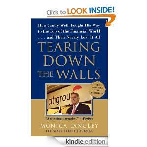 Tearing Down the Walls (Wall Street Journal Book) Monica Langley