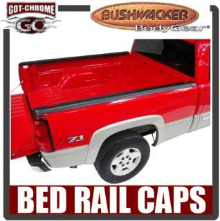 58510 Bushwacker Ultimate Bed Rail Caps Dodge Ram 8 2002 2008