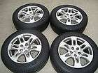 Set of 4 used OEM/Factory 2007 Acura MDX wheels & tires w/TPMS RL