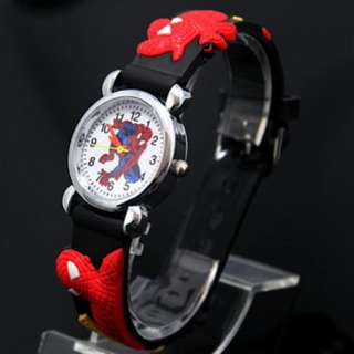 Spider man Child Boy Quartz Wrist Watch Toy Xmas Gift