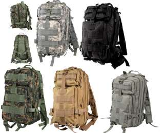 MOLLE & Water Bladder Compatible Water Resistant Medium Transport Pack