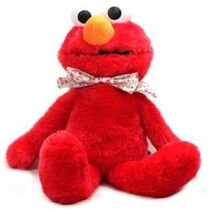 Sesame Street Floral Ribbon Elmo Plush 3271 Toys & Games