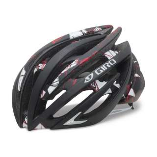 GIRO AEON ROAD BIKE BICYCLE CYCLING HELMET MATTE BLACK / RED EXPLOSION