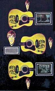 Beatles John Lennon Owned and Worn Clothing and Film Frames Display