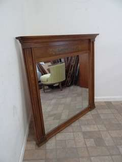 hitchcock paint decorated dresser wall mirror