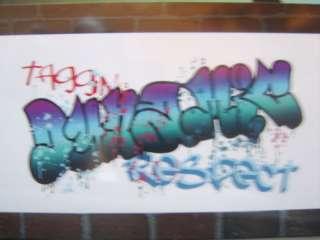 BOYS GIRLS GRAFFITI LARGE GIANT WALL ART STICKERS matches BORDER SELF