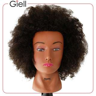 18 Cosmetology Mannequin Head Afro Human Hair   Naomi