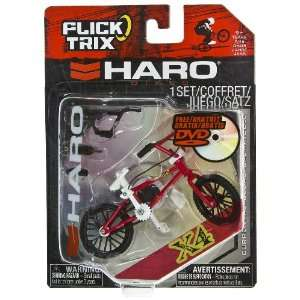 X4 by Haro: Flick Trix ~4 BMX Finger Bike w/ DVD: Toys