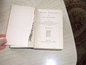 Vintage Book Eight Cousins/ Louisa M. Alcott