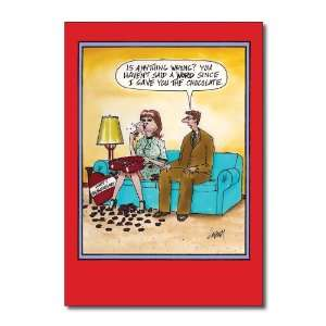 Funny Valentines Day Card Anything Wrong Humor Greeting
