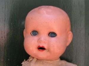 Antique Large Composition Baby Doll. Germany