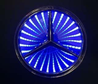 REFLECTIVE LED Light Badge Emblem logo for Mercedes Benz S300L S350