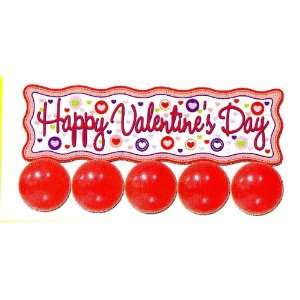 Happy Valentines Day 35 Inch Balloon Banner: Health