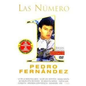 PEDRO FERNANDEZ  LAS NUMERO 1 + CD Movies & TV