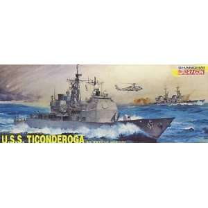 USS Ticonderoga Guided Missile Cruiser 1 350 Dragon: Toys