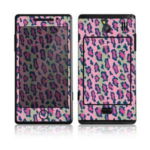 Pink Leopard Decorative Skin Cover Decal Sticker for