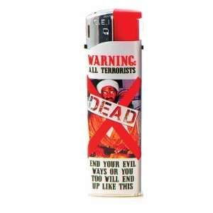 Osama Bin Ladin is Dead Lighter   Warning All Terrorists