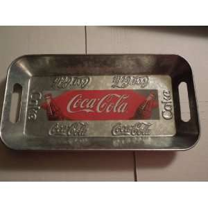 Coca Cola galvanized Metal Tray (Houston Harvest Gift