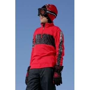 Spyder Boys Creepy Dry WEB T Neck (Red/Black/White) S (6/8