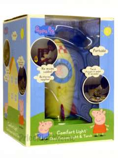 PEPPA PIG & GEORGE COMFORT NIGHT LIGHT & TORCH NEW