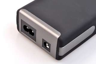 90W Universal Laptop AC DC Adapter + USB LCD Display Power Charger