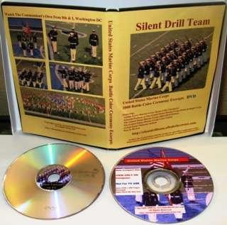 USMC Marine Corps Silent Drill Team DVD+Challenge Coin