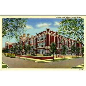 Reprint Austin MN   Austin High School. 1BH199 Home