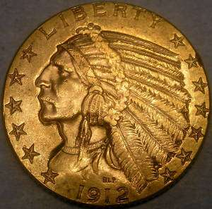 GOLD $5 HALF EAGLE VERY APPEALING HIGH QUALITY EXTREMELY SHARP
