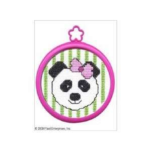 Bucilla 45425 Panda Mini Counted Cross Stitch Kit, 5.125
