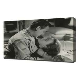 Garbo, Greta (Two Faced Woman)_05S   Canvas Art Print   Framed Size