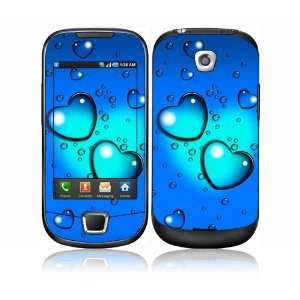 Samsung Galaxy 3 i5800 Decal Skin Sticker   Love Drops