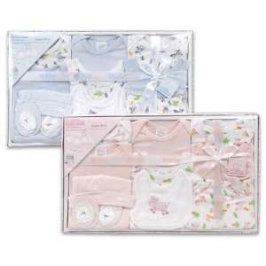 Newborn Baby Layette Set, 10 Piece   Blue Baby