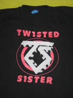 1980 TWISTED SISTER VTG TOUR T SHIRT @EARLY CLUB DAYS@@