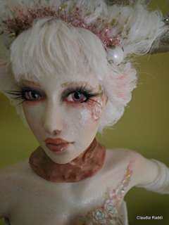 Rosalie by Claudia Raddi, OOAK Art Doll sculpture, no fairie, IADR